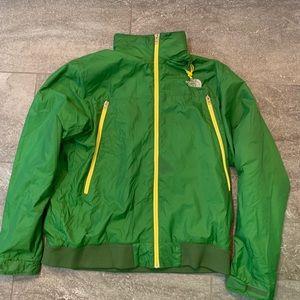 Men's North Face zip up jacket.